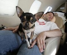 """Kayle and Tony. Talk about a """"Lucky Dog"""""""