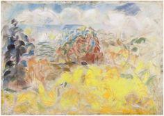 Rafael Wardi: Kesäpäivä 2012. Kuivapastelli 50x65cm Finland, Artists, Painting, Painting Art, Paintings, Painted Canvas, Artist, Drawings