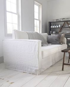 Slip covers for Ikea furniture Bemz Loose Fit Urban - Bemz Ikea Karlstad Sofa, Ikea Sofa, Ikea Furniture, Living Room Update, Home And Living, Ikea Couch Covers, Couch Slip Covers, Sofa Living, Relaxation Room
