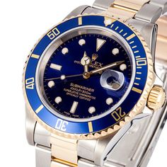 This Two Toned Submariner is the best we have in store right now, In my opinion that is.