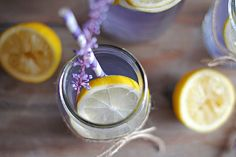 . Lavender Lemonade: Lemons are incredible for boosting metabolism and helping with weight loss. By adding a touch of honey to this lemonade, you will get an extra kick of vitamins and minerals. (via Eat Yourself Skinny)