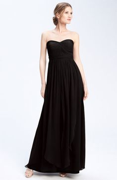 Favorite BM dress so far!    Jenny Yoo 'Aidan' Convertible Strapless Chiffon Gown available at #Nordstrom