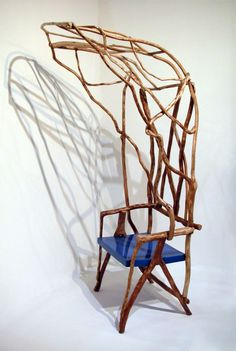 The Wild Bodged Chair by Valentina Gonzalez Wohlers. * Deco Findings * The Inner Interiorista