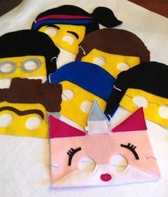 Lego Mask/ Lego Movie Masks child size by miriamsolano on Etsy