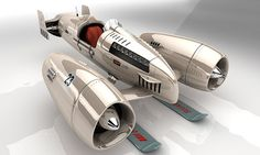 Drone Design : inspiration for Dieselpunk concepts Arte Sci Fi, Sci Fi Art, Concept Ships, Concept Cars, 3d Design, Hover Bike, Sculpture Metal, Sci Fi Ships, Flying Car