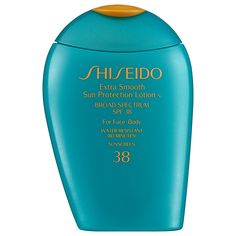 What it is:A highly nourishing sunscreen lotion for the face and body that defends against powerful UVA/UVB rays which cause sunburn, cell damage, dryness, roughness, and premature signs of aging such as fine lines.   What it does:This extra-smooth