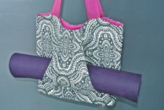 Yoga mat bag by Outer Peace Designs. From www.fair52.com
