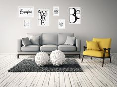 Would you like to decor your living room with some lovely prints? Check out our website then www.typebyme.com - WE SELL THEM #typebyme