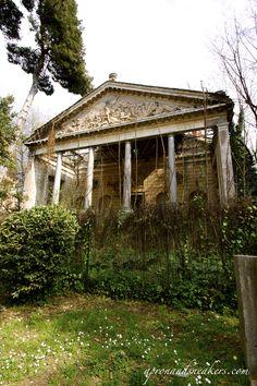 Villa Torlonia is a villa with surrounding gardens in Rome