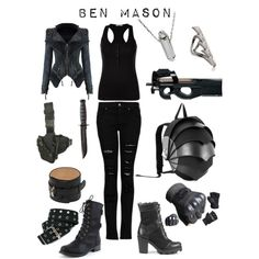 Ben Mason - Falling Skies (TNT) inspired outfit by shadowsintime on Polyvore
