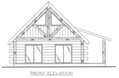 *Butt & Pass Log Home *Living Room *Bathroom with Stackable Washer/Dryer Log Cabin Floor Plans, A Frame House Plans, Cabin House Plans, Log Cabin Homes, Tiny House Plans, Barn Plans, Cabin Design, House Design, Small Cottage Homes
