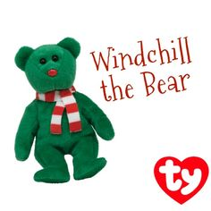Windchill the Beanie Baby ornament! 7e6c650a29a1