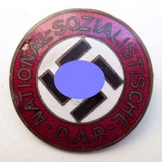 Online veilinghuis Catawiki: National Socialist German Workers Party (NSDAP) membership badge from non-ferrous metal manufacturer Otto Schickle