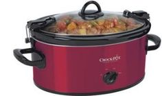 Get this Crock-Pot SCCPVL600-R Cook' N Carry 6-Quart Oval Manual Portable Slow Cooker, Red with discounted price.