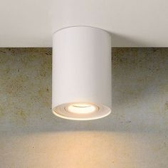 Lucide - Spot rond Tube blanc