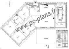 Diamant 114 m 3 chambres mod les de maison c te atlantique mca maison en v en 2019 - Mca maisons de la cote atlantique ...