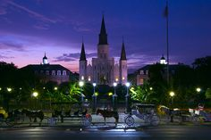 As night falls, it only gets better in New Orleans.