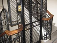I dream of an apartment with a cage elevator