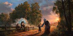ArtStation - Tales Along This Road, Teemu Husso