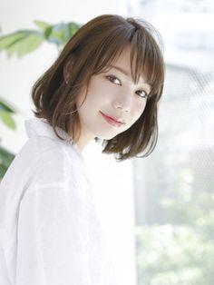 【HOULe大西絢子】【人気スタイル★】 オーガニック 2018 髪型 ボブスタイル 大人かわいい