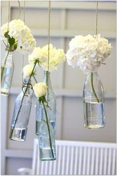 Simple and pretty party deco.