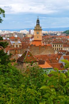 Stone and I spent the night in Romania's mysterious Transylvania region, Brasov, which has been strongly associated with vampires, werewolf'. Brasov Romania, Carpathian Mountains, Black Church, Medieval Town, Old City, Restaurant, Building, Old Town, Buildings