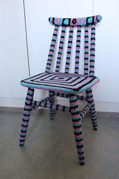 Virkattu tuolin päällinen, 2010