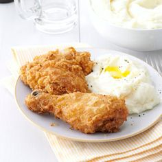 Family-Favorite Fried Chicken Recipe -I was never impressed with the fried…