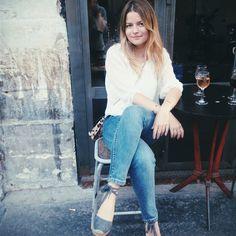 Así llevan las alpargatas las francesitas más cool © Sabina Socol