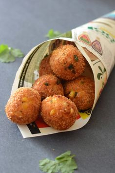 Corn and Cheese Balls. Crispy and cheesy fried balls made with corn and cheese.