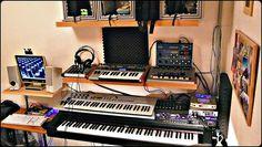 the (new) new home studio    Music Studio