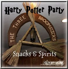 Grace's Scrap Attic: Harry Potter Party - The Three Broomsticks - Snacks and Spirits post #9