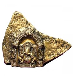 Brass Mounta inch Ganesha