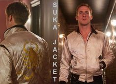 Checkout ‪#‎RyanGosling‬ sporting a ‪#‎Suka‬ ‪#‎Jacket‬ for the Movie ‪#‎Drive‬. Checkout some cool ones from ‪#‎TailorToyo‬ by ‪#‎SugarCane‬. Buy a ‪#‎SukaJacket‬ at Niro Peterborough