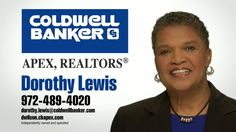 Dorothy Lewis | Realtor, Coldwell Banker | business video pages | Video proFile