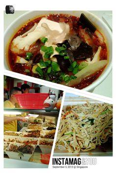 #FD1309 #ChinesseFood #HotPot  新加坡牛车水的这家麻辣烫和凉拌菜太好吃了,店里满满的麻辣口味,我简直以为在国内,不过为什么店员都说一口东北话?