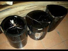Black Petrified Wood Coffee Table Petrified Wood Table, Make It Yourself, Coffee, Black, Kaffee, Black People, Cup Of Coffee