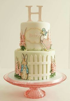 www.cakecoachonline.com - sharing....Beatrix Potter cake