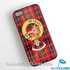 Innes Clan Crest iPhone Case