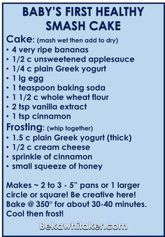 healthy smash cake directions beka web