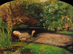ophelia painting   The death of Ophelia « The Room of Beauty