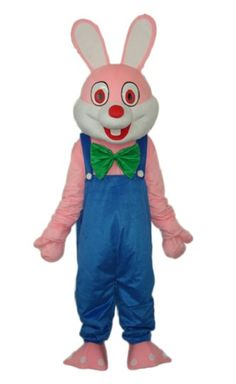 Robbie Rabbit Mascot Costume