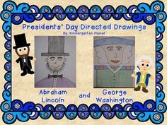 Would you like to know how to draw George Washington and Abraham Lincoln?  This pdf will show you step-by-step how to draw each president.  This is a fun, cute and simple project for Pre-K - lower elementary students.  Students will be surprised at their drawings!This will be a favorite art project for years to come!