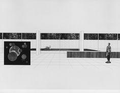 ludwig mies van der rohe… präsentationsmappe für den bau der neuen nationalgalerie, 1963