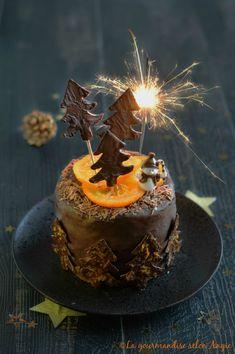 layer cake vegan chocolat orange noël
