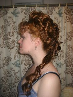 The Seamstress of Avalon: Late-Victorian Hair Tutorial