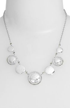 Judith Jack 'Cooling Effects' Frontal Necklace available at #Nordstrom