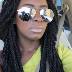 Thumbnail image for i want her hair!: diy senagalese twists