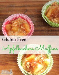 Gluten Free Apfelkuchen Muffin #recipe #STAROliveOil #shop #cbias