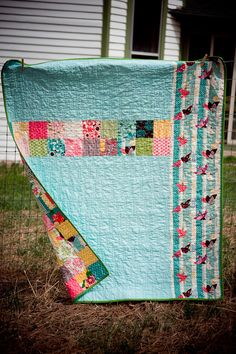 If I ever decide to make a quilt it will be this one
